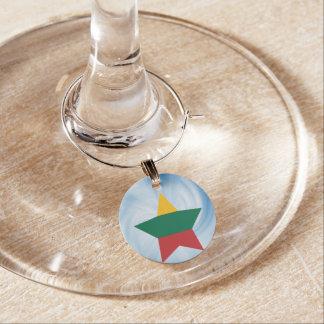 Estrella amistosa de la bandera de Lituania del Identificadores De Copas