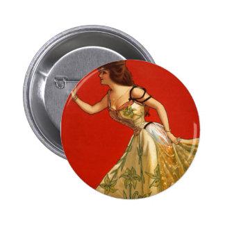 Estrella Ana del vodevil del Victorian detenido 1 Pins