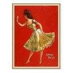 Estrella Ana del vodevil del Victorian detenido (1 Tarjetas Postales