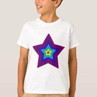 estrella arco iris T-Shirt