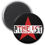 Estrella atea iman para frigorífico