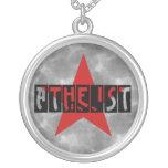 Estrella atea pendiente personalizado