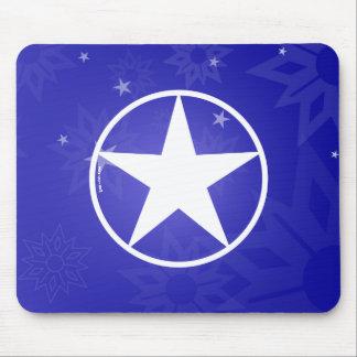 Estrella Avatar del navidad Alfombrillas De Ratón