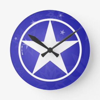 Estrella Avatar del navidad Reloj De Pared