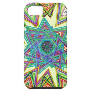 Estrella azteca iPhone 5 cárcasas