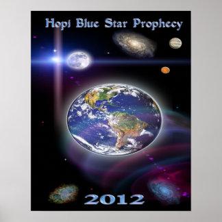 estrella azul 2012 del hopi poster