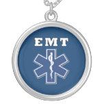 Estrella azul de EMT de la vida Collares Personalizados