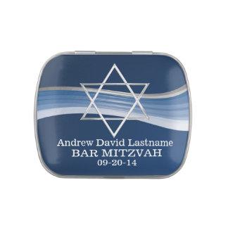 Estrella azul de la onda de David Jarrones De Dulces