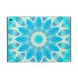 Estrella azul del hielo, mandala abstracta de la t iPad mini cárcasa