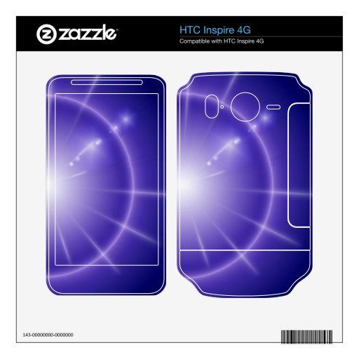 Estrella azul HTC inspire 4G calcomanías