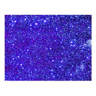 Estrella azul marino de Starfield del cielo Postal