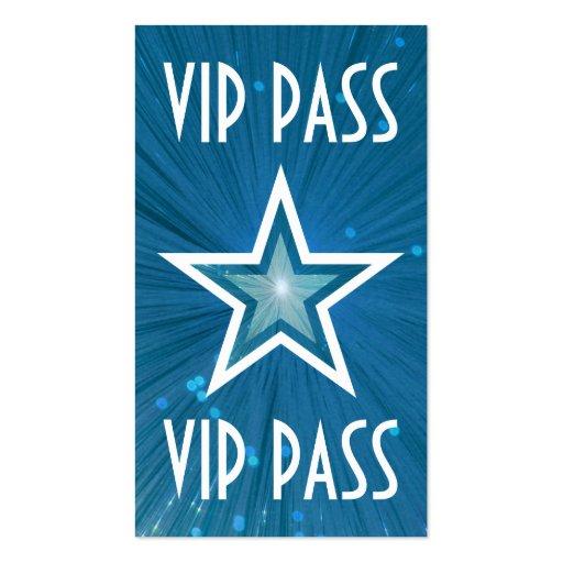 "Estrella azul ""parte posterior del blanco de la ta plantilla de tarjeta de visita"