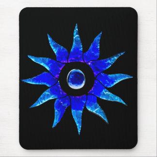 Estrella azul tapetes de ratón
