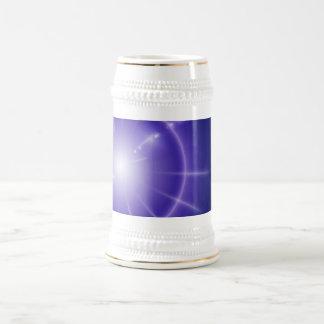 Estrella azul tazas de café