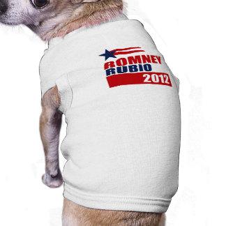 ESTRELLA BANNER png de ROMNEY RUBIO VP Camiseta De Perro