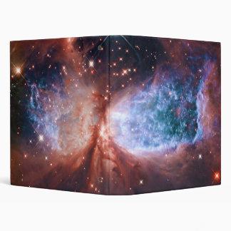 Estrella bipolar que forma la nebulosa de Sharples