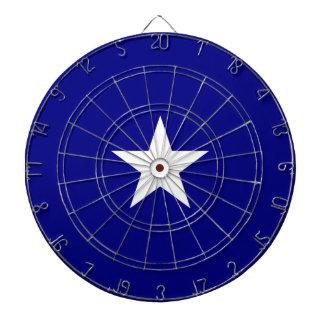 Estrella blanca de la bandera azul de Bonnie