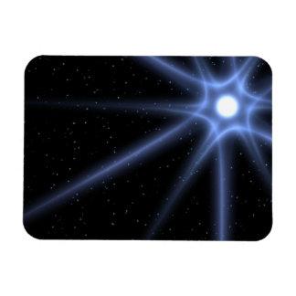 Estrella brillante imanes flexibles