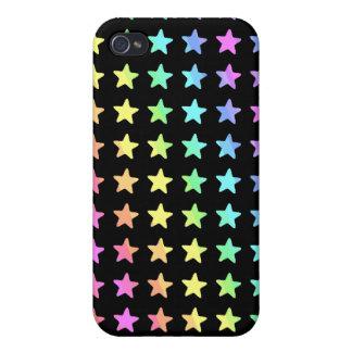 Estrella brillante iPhone 4/4S carcasas