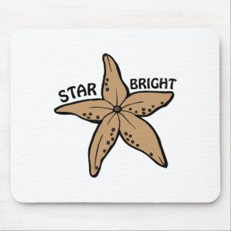 Estrella brillante alfombrilla de raton