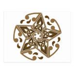 Estrella céltica postal