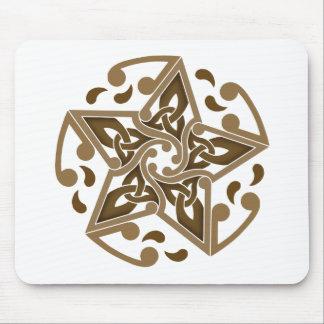 Estrella céltica tapete de raton