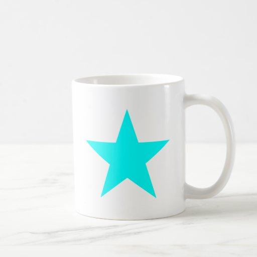 Estrella ciánica los regalos de Zazzle del MUSEO Taza De Café