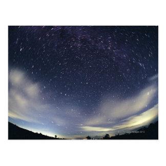 Estrella circumpolar tarjeta postal