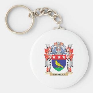 Estrella Coat of Arms - Family Crest Keychain