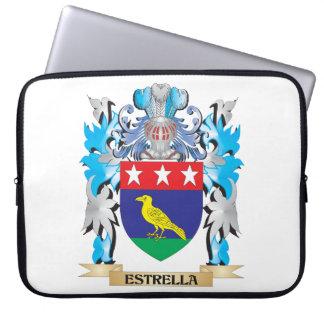 Estrella Coat of Arms - Family Crest Laptop Computer Sleeve