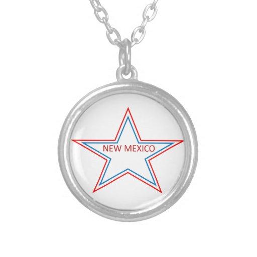 Estrella con New México en él Grimpolas Personalizadas