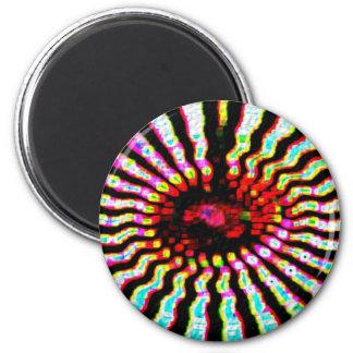 Estrella curativa - plexos solares imán redondo 5 cm
