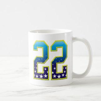 Estrella de 22 edades tazas