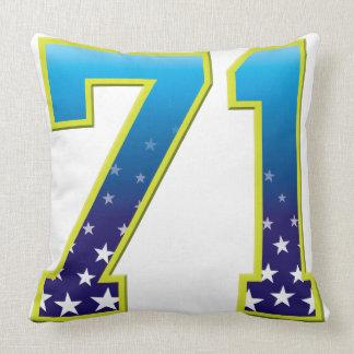 Estrella de 71 edades almohadas