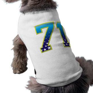 Estrella de 71 edades ropa de perro