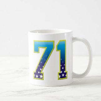 Estrella de 71 edades taza
