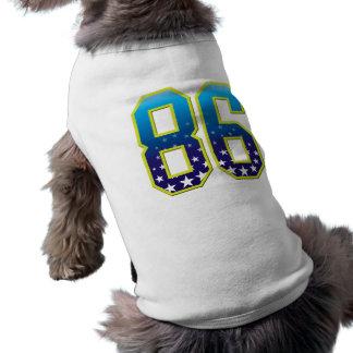Estrella de 86 edades camisa de perrito