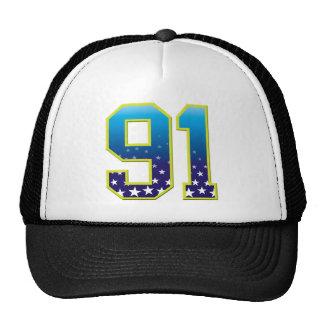 Estrella de 91 edades gorras de camionero