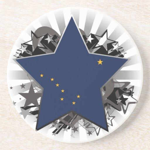 Estrella de Alaska Posavasos Diseño