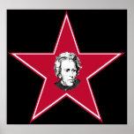 Estrella de Andrew Jackson Posters