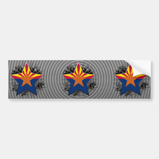 Estrella de Arizona Pegatina Para Auto
