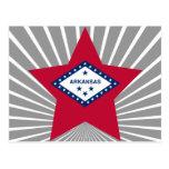 Estrella de Arkansas Postales