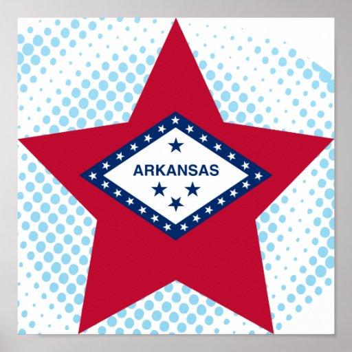 Estrella de Arkansas Poster