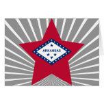 Estrella de Arkansas Tarjeta
