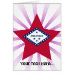 Estrella de Arkansas Tarjeton
