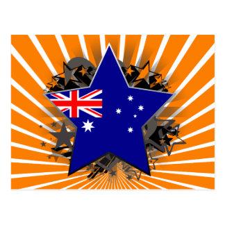 Estrella de Australia Tarjeta Postal