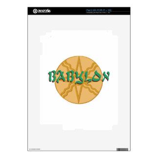 Estrella de Babilonia iPad 2 Skins