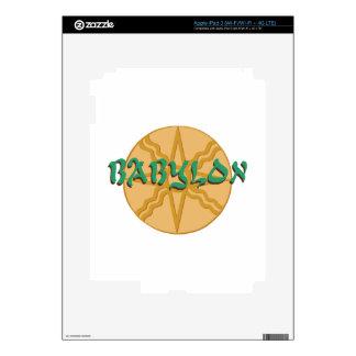 Estrella de Babilonia Pegatina Skin Para iPad 3
