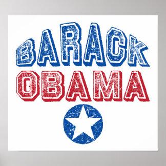 Estrella de Barack Obama Poster