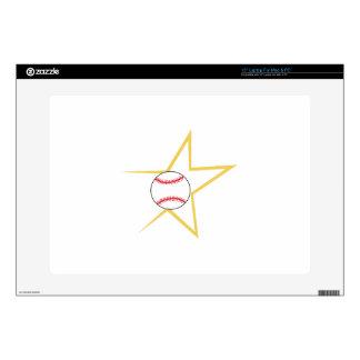 Estrella de béisbol calcomanía para 38,1cm portátil